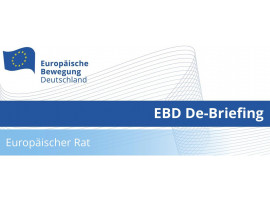 EBD De-Briefing Europäischer Rat | 26.10.2021