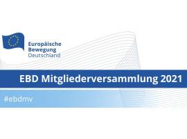 EBD Mitgliederversammlung 2021