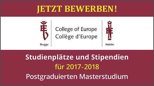 College of Europe | Livechat mit Alumni für Studieninteressierte