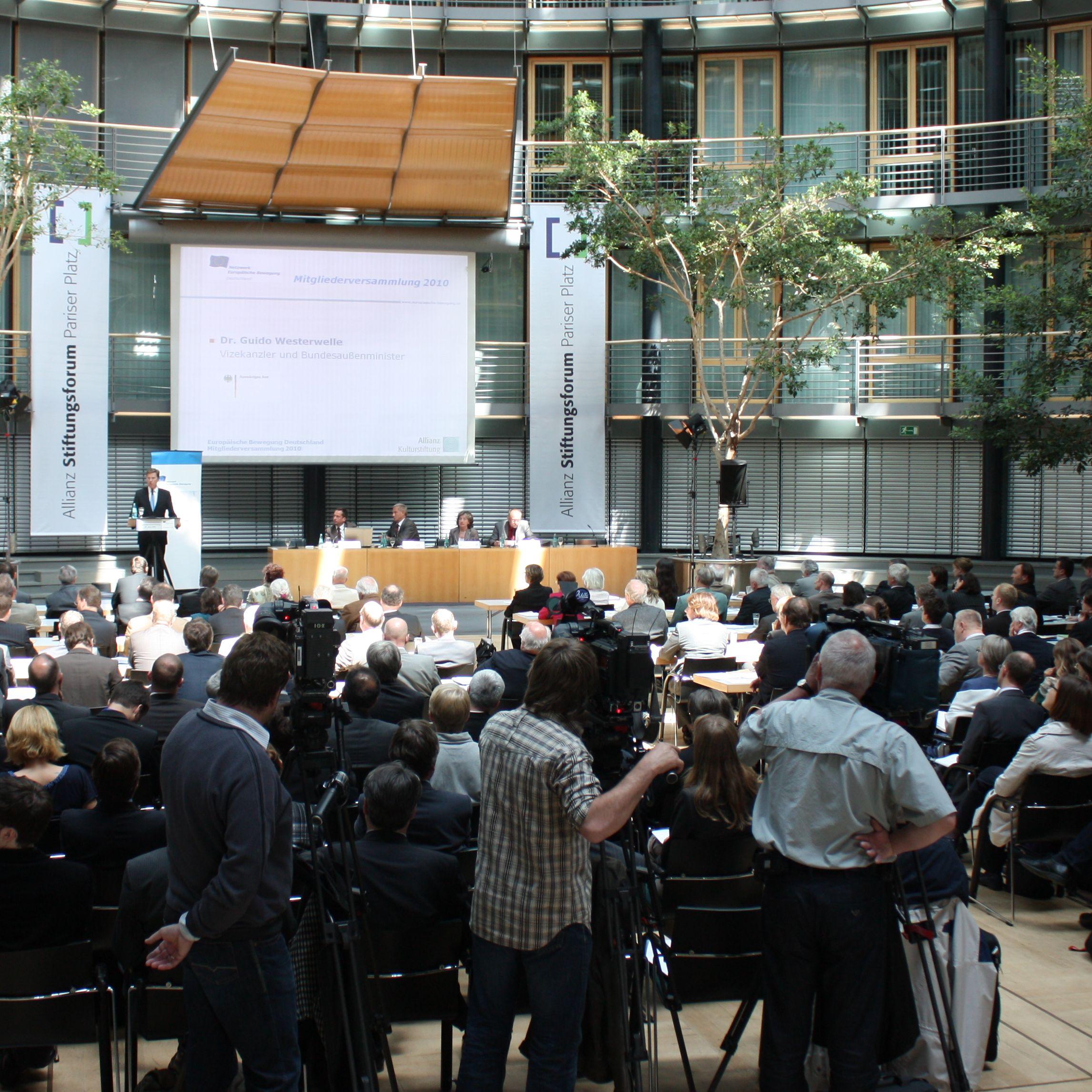 EBD Netzwerk-Tag im Auswärtigen Amt mit über 400 Teilnehmern – Am kommenden Montag, 27. Juni