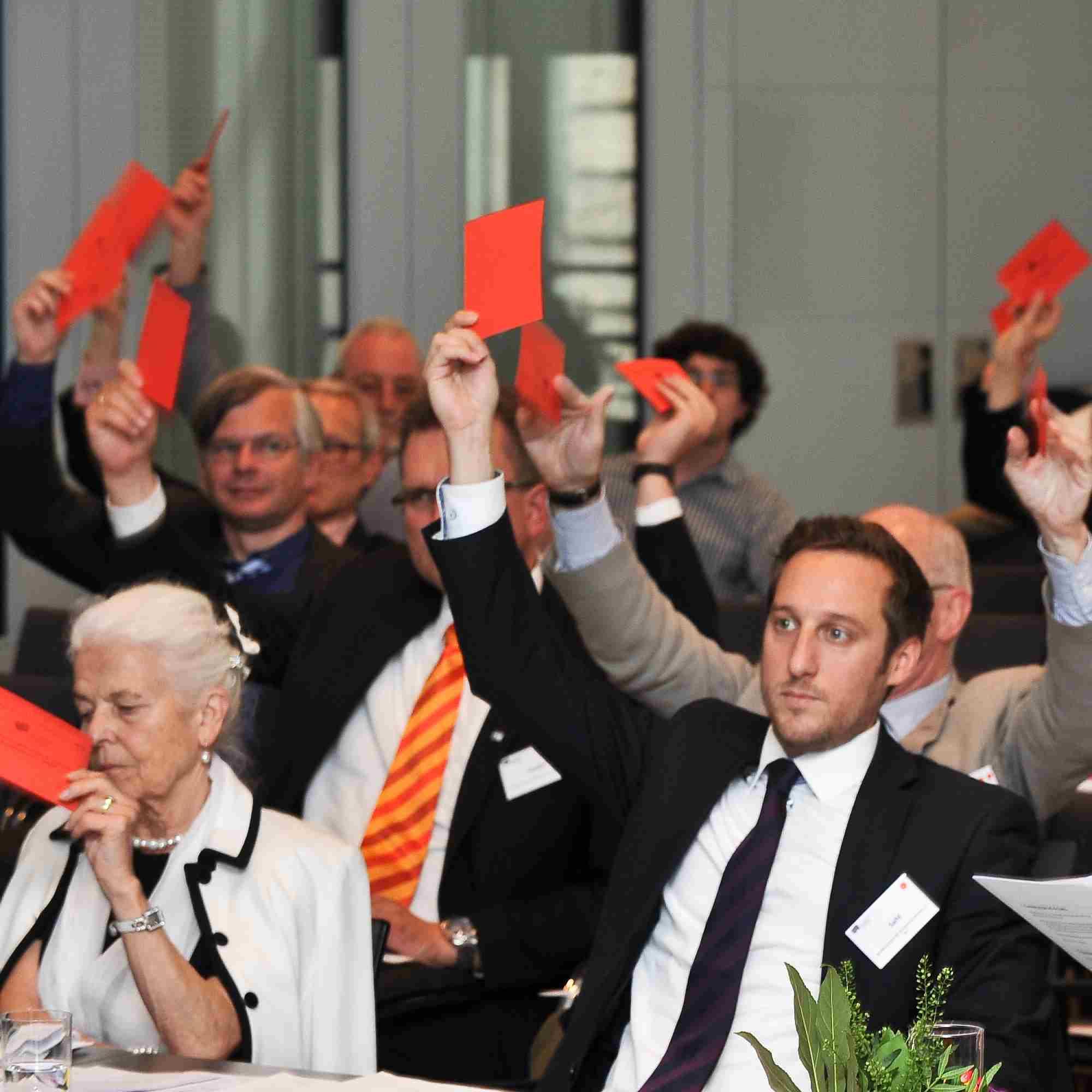 Politische Forderungen & Arbeitsschwerpunkte der EBD beschlossen