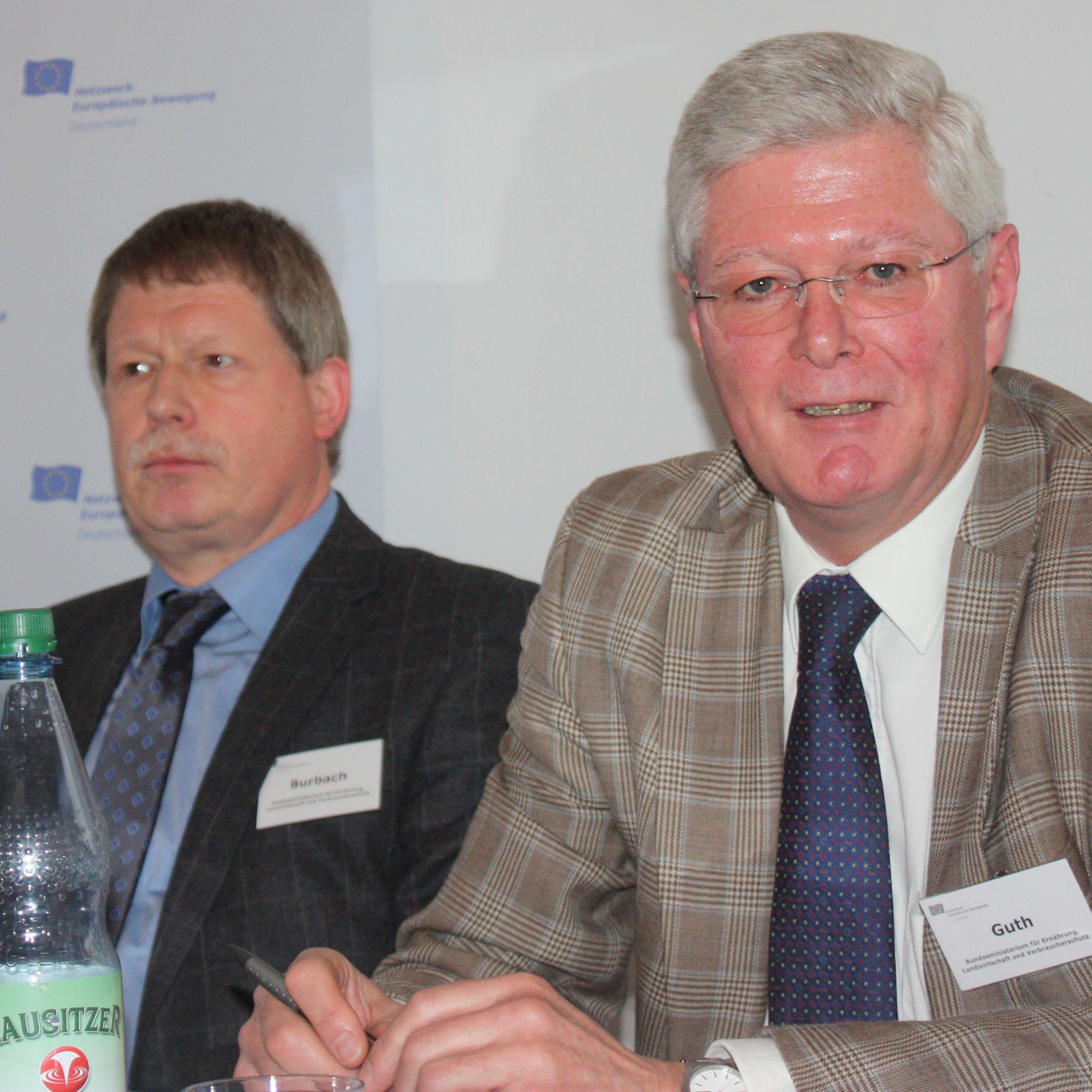 Hartnäckigkeit macht Quote, zeigt EU-De-Briefing Landwirtschaft und Fischerei