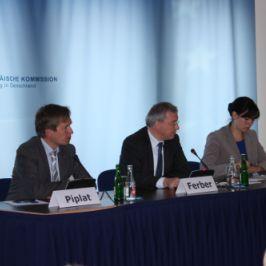 """""""Soziale Marktwirtschaft für Finanzplätze"""" – EP-Berichterstatter Markus Ferber zur MiFID-Richtlinie"""
