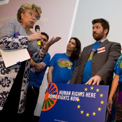 Chancengleichheit von Sinti und Roma verbessern!