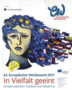 Titelmotiv für die 64. Runde des Europäischen Wettbewerbs