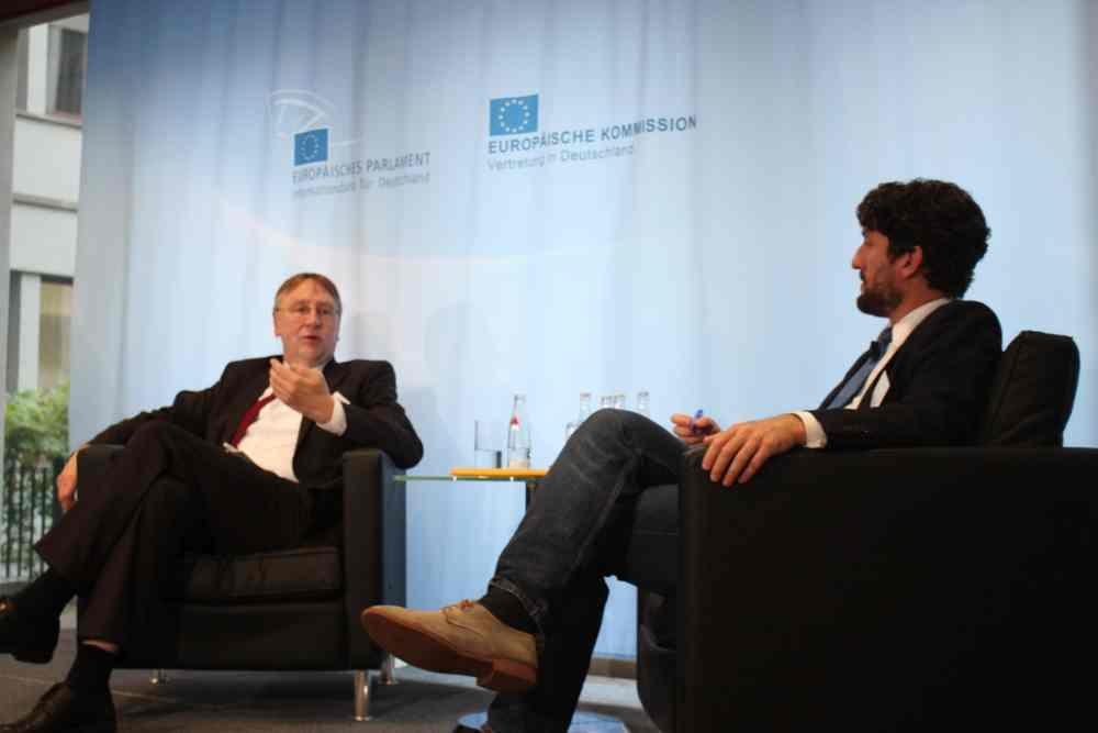 Europaabgeordneter Bernd Lange berichtet zu TTIP