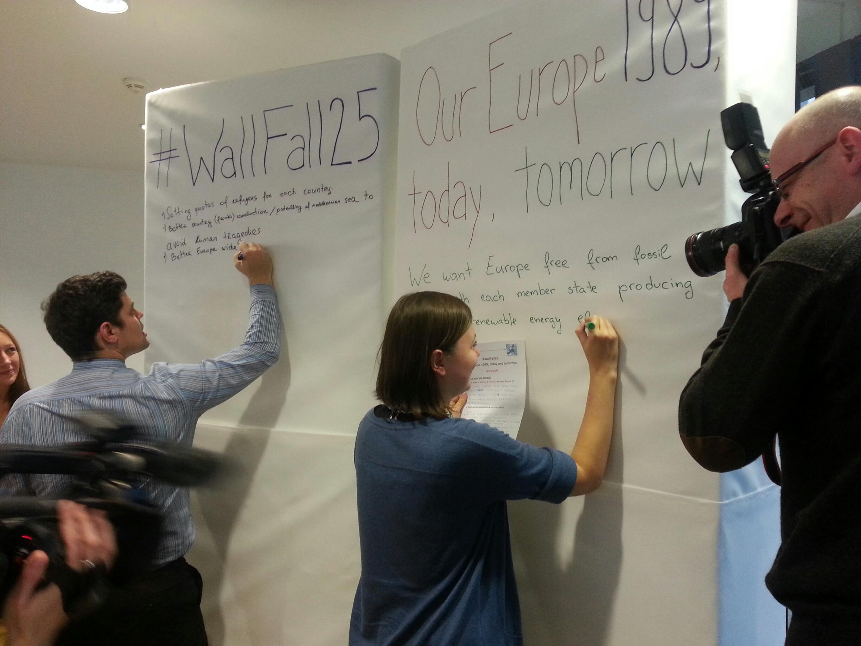 Berlin Manifesto for Europe – results of #WallFall25