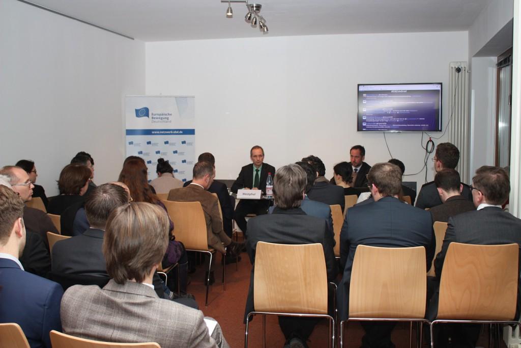 Full house beim EBD De-Briefing EcoFin am 18. Januar