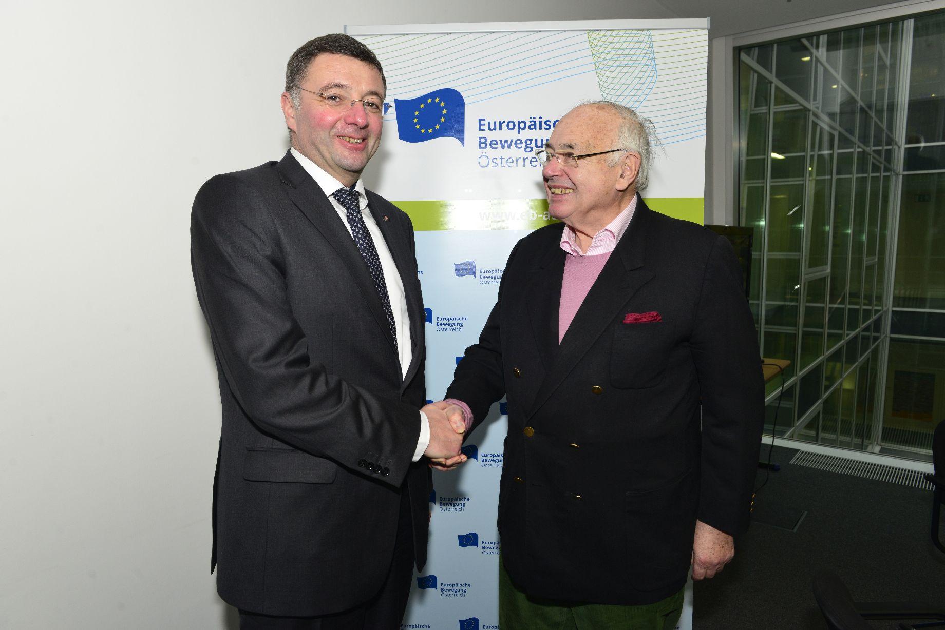 Relaunch der Europäischen Bewegung Österreich als Plattform der proeuropäischen Kräfte