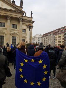 Europäische Bewegung Gendarmenmarkt Berlin