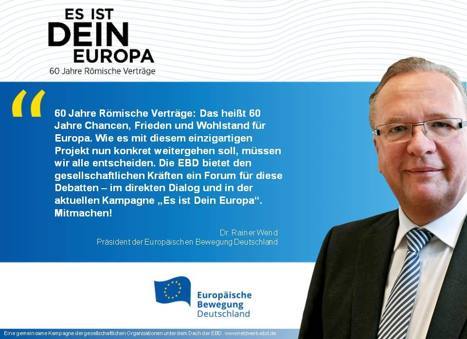 60 Jahre Römische Verträge, Zukunft Europas