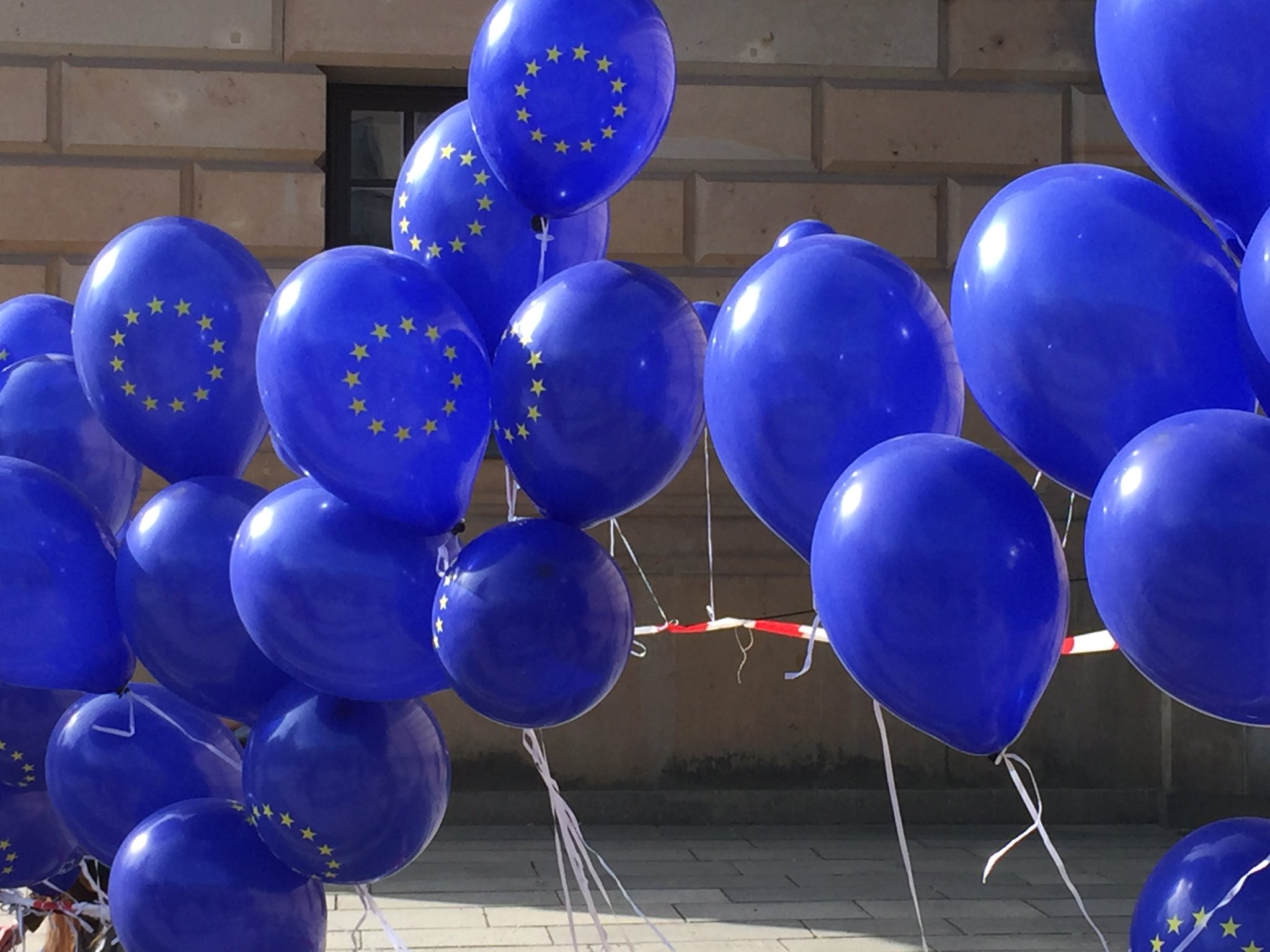 "EUD | ""March for Europe"" in Berlin und Rom"