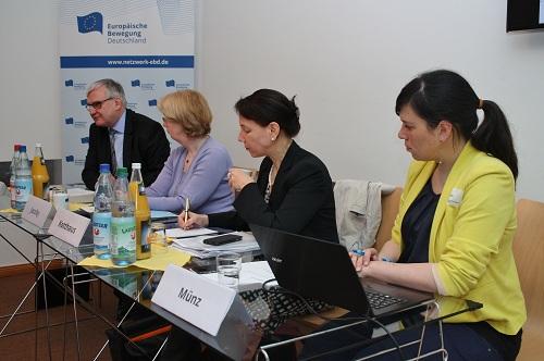 EBD De-Briefing zum Rat Justiz und Inneres | Zwischenstopp mit Blick auf Juni