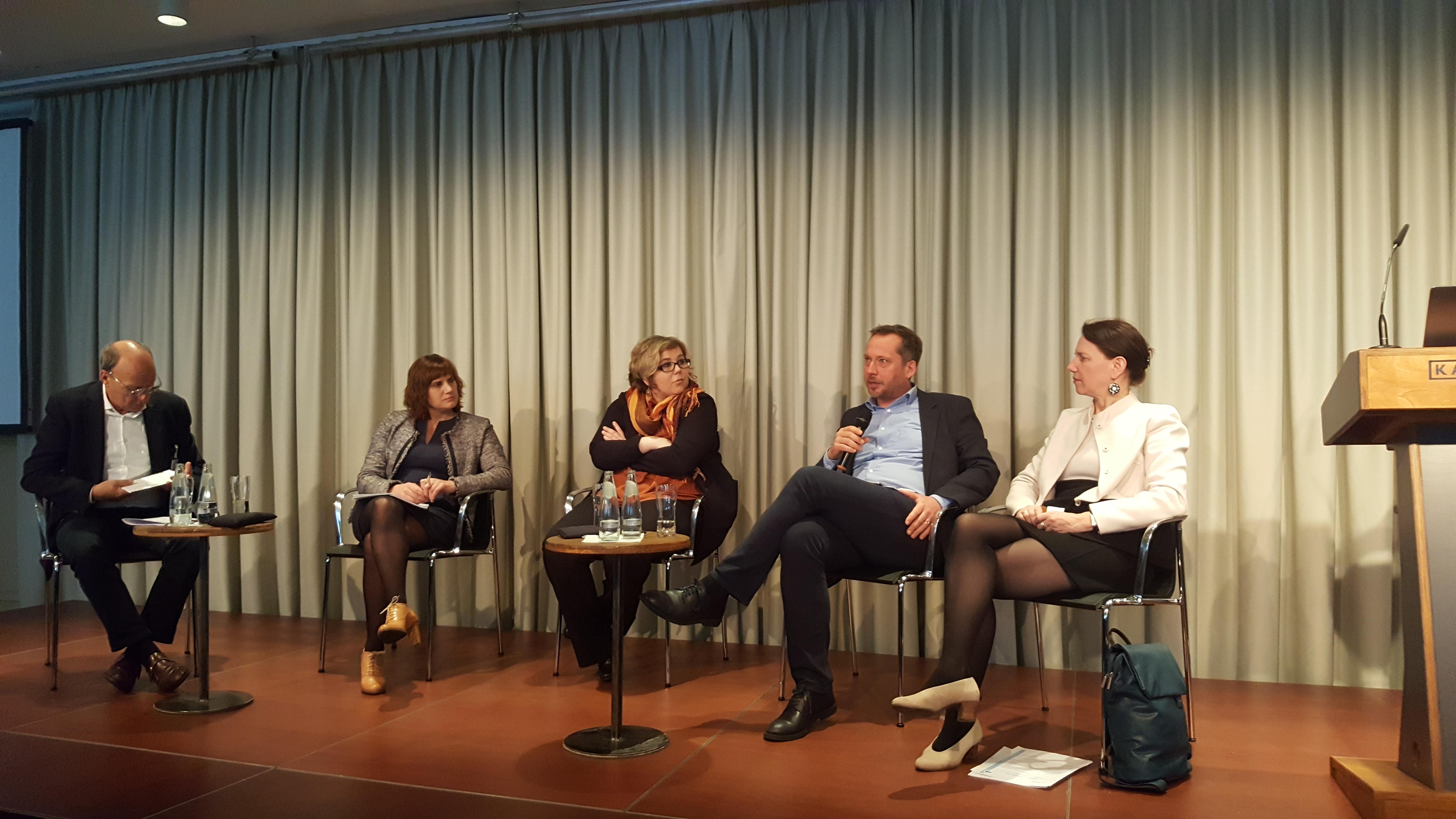 EBD-Generalsekretär Hüttemann auf europäischer Integrationskonferenz