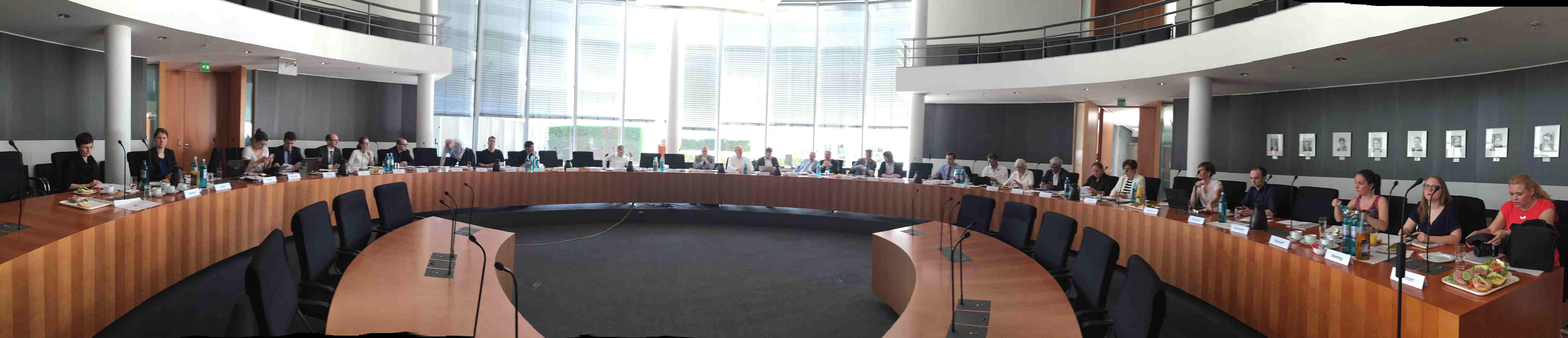 EBD-Vorstand auf der Zielgeraden: Letzte Sitzung vor der Mitgliederversammlung 2017