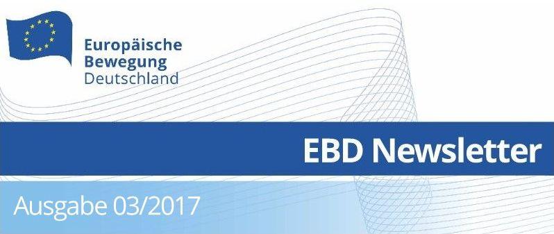 Ebd Politik Und Wahlen Europa Pragen Newsletter 03 2017