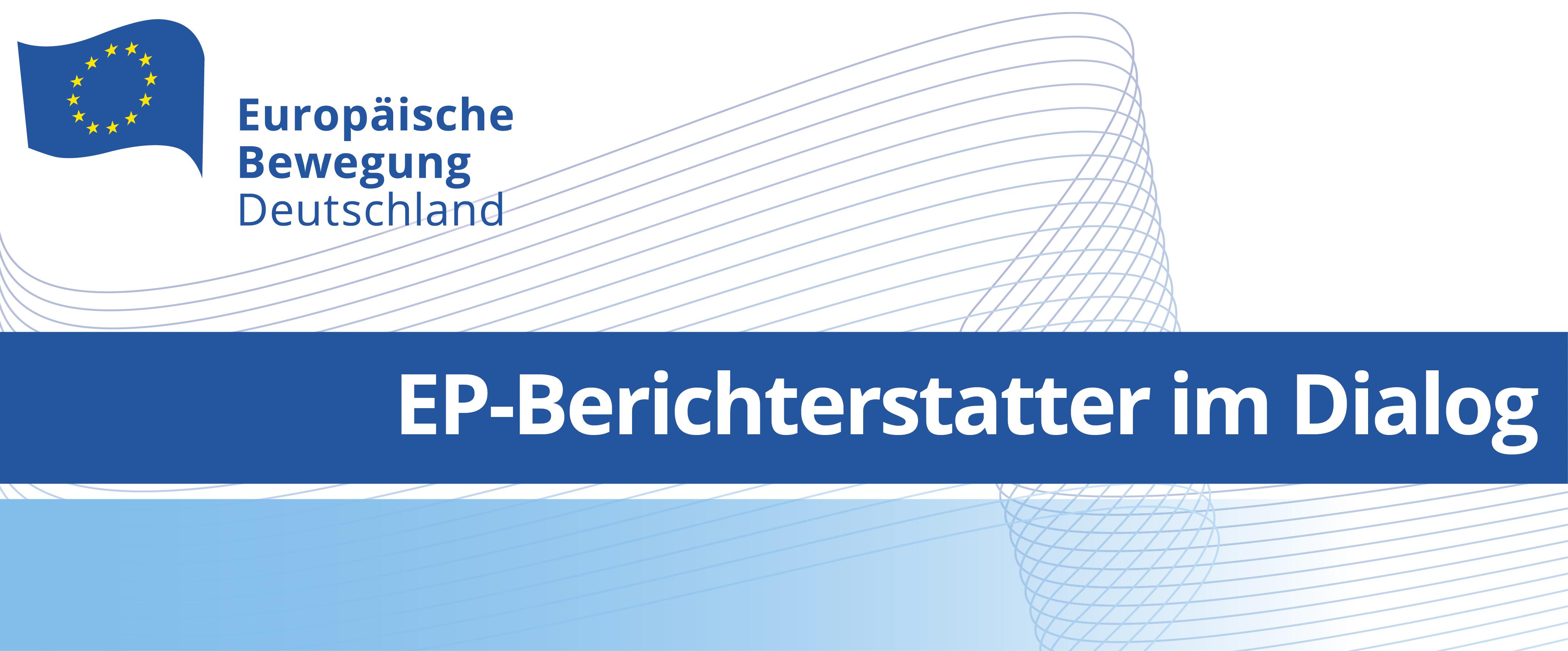 EP-Berichterstatter im Dialog: Jens Geier | 23.04.2021