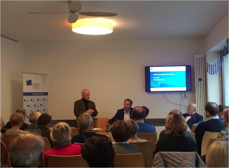 Deutsch-französische Freundschaft: Besuch der Europäischen Bewegung Seine-Maritime in Berlin