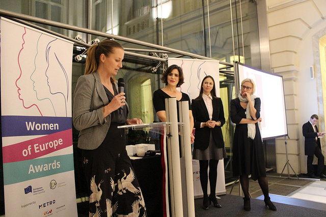 Adriana Lettrari als Woman of Europe ausgezeichnet