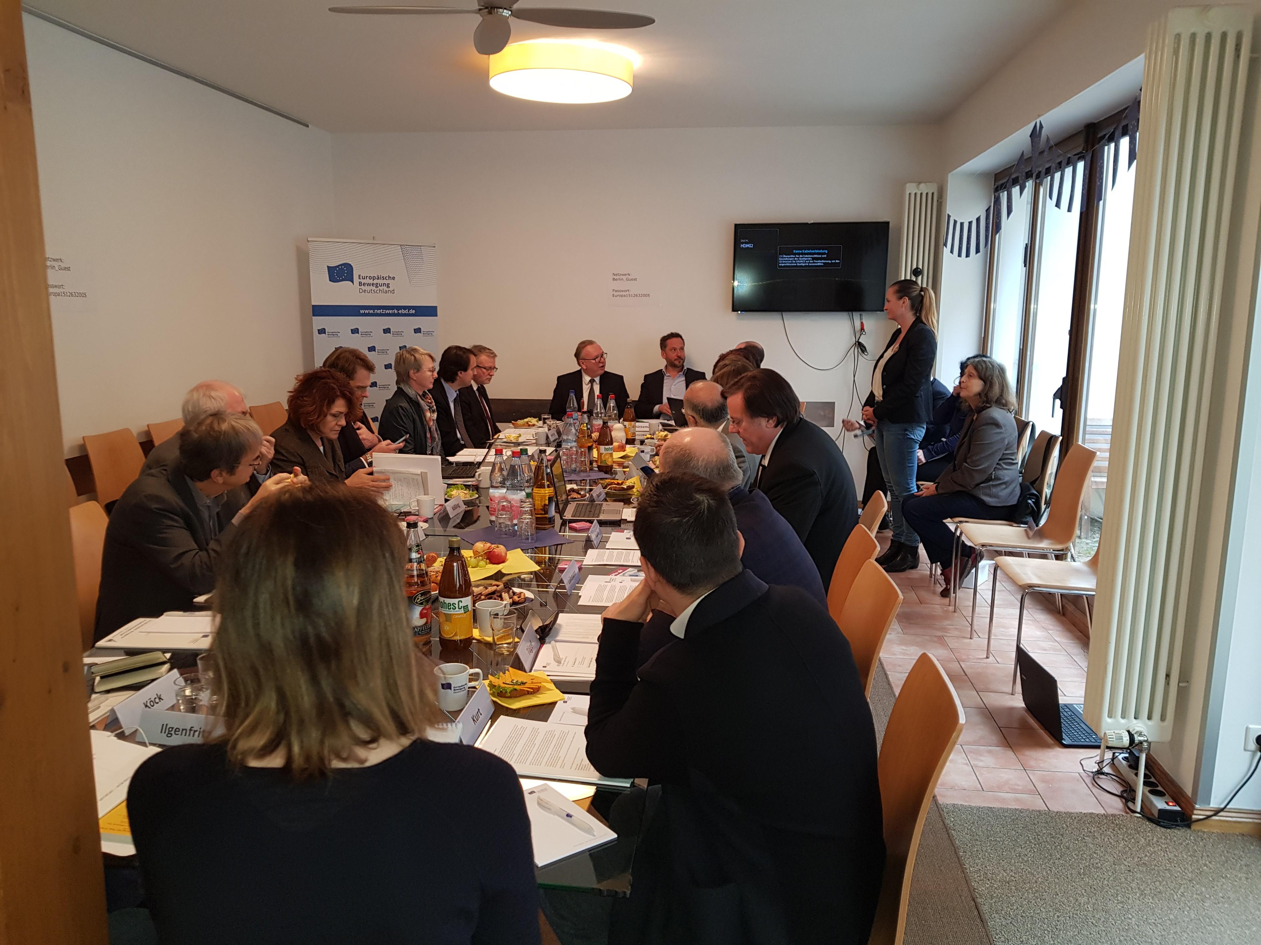 EBD zieht Bilanz und blickt ins neue Jahr   Dezember-Sitzung des Vorstands