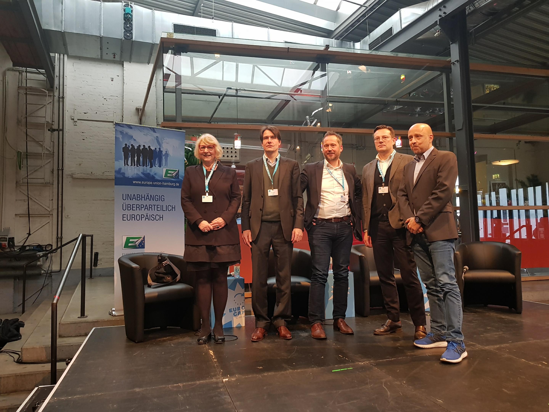Ein Festival für Europa! | EBD-Generalsekretär Hüttemann beim EuropaCamp der Zeit-Stiftung