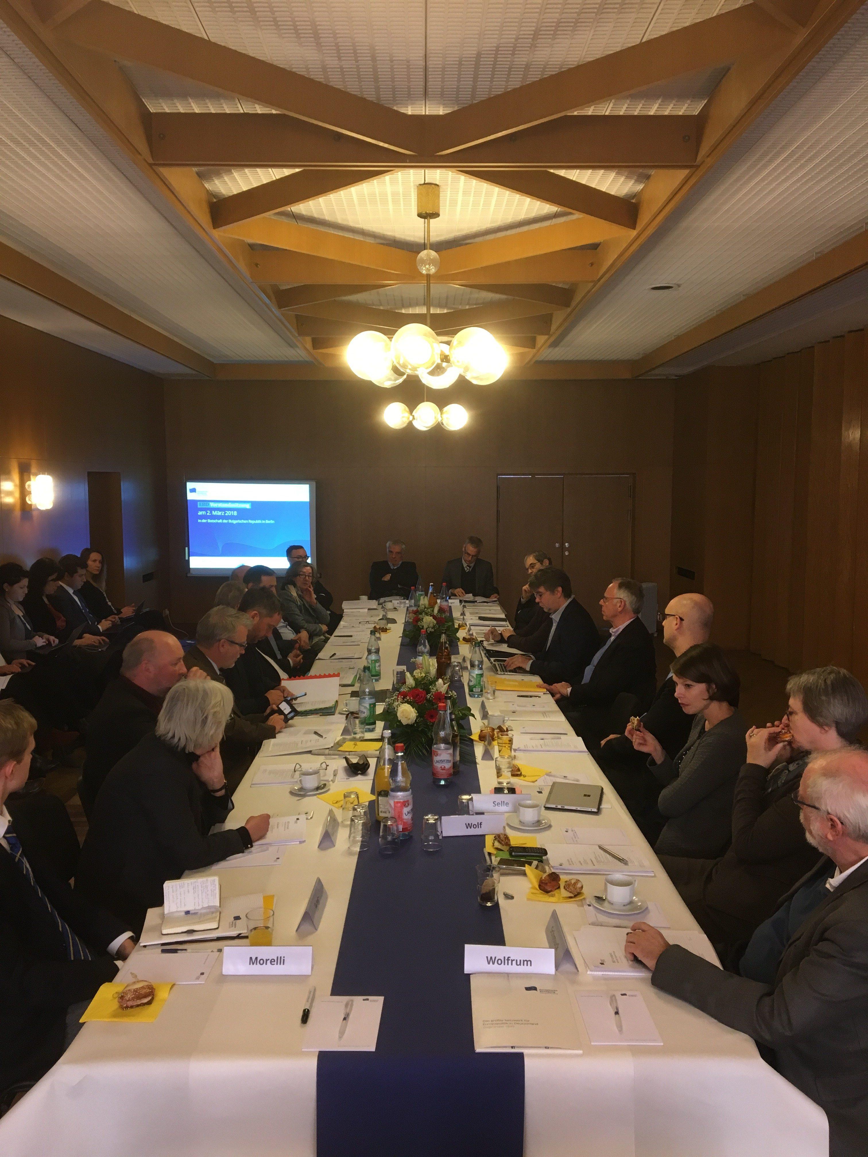 Europa in aller Munde   Erste Sitzung des EBD-Vorstands im neuen Jahr