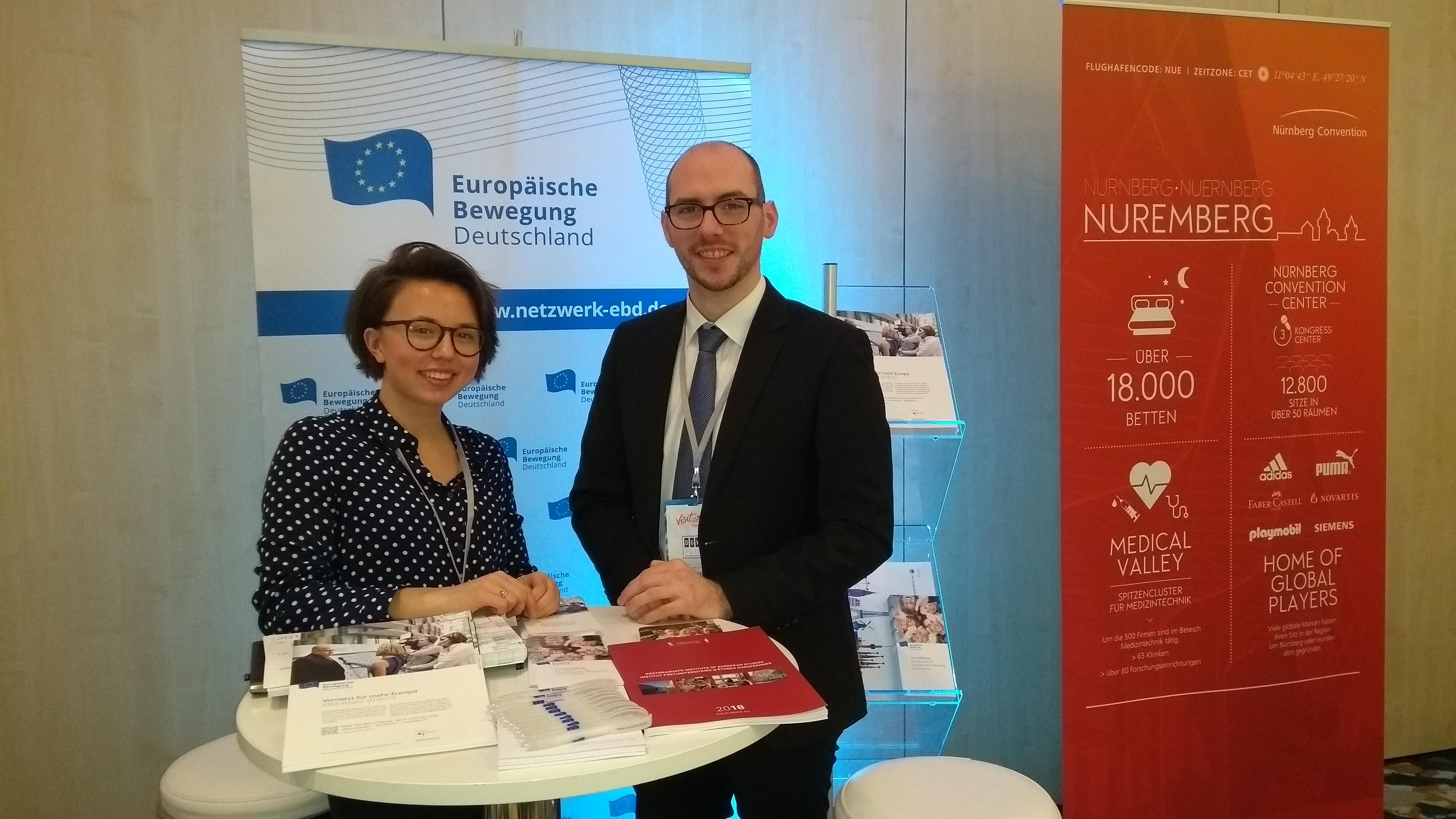Die Europäische Bewegung Deutschland auf dem 16. Deutschen Verbändekongress