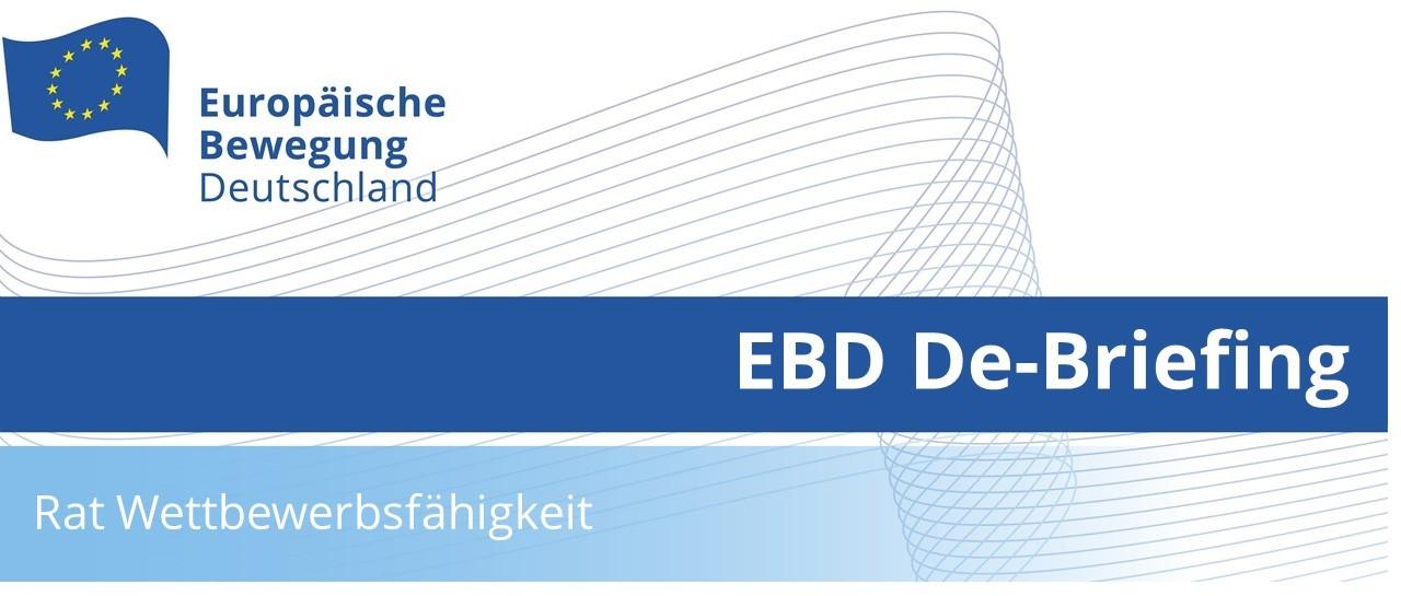 EBD De-Briefing Wettbewersfähigkeit   31.05.2021