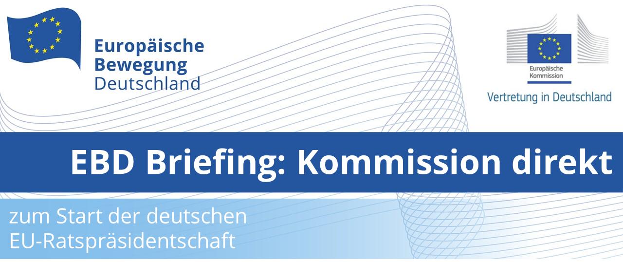 EBD Briefing: Kommission direkt mit Virginijus Sinkevičius, EU-Kommissar für Umwelt, Meere und Fischerei