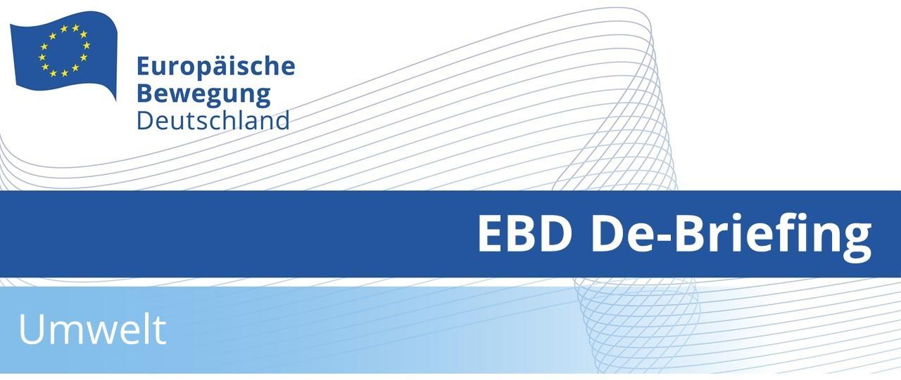 EBD De-Briefing Umwelt | 14.06.2021