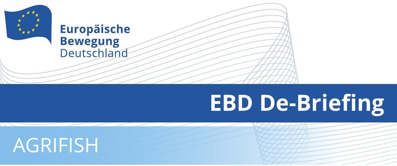 EBD De-Briefing AGRIFISH | 28.05.2021