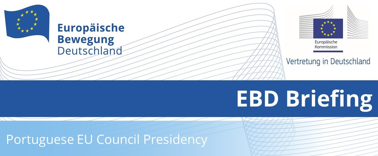 EBD Briefing: Portuguese EU Council Presidency