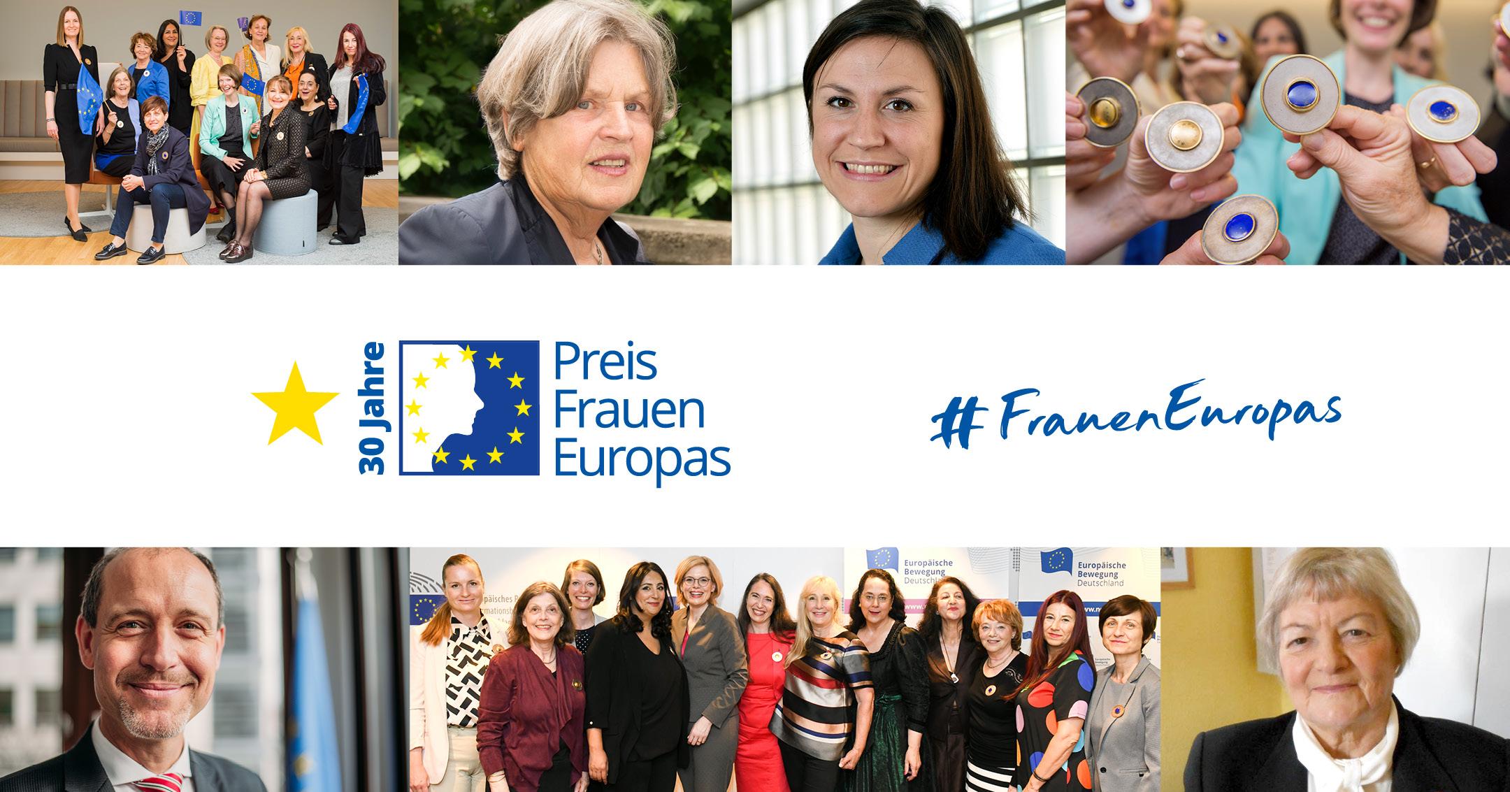 Preisverleihung Preis Frauen Europas 2021