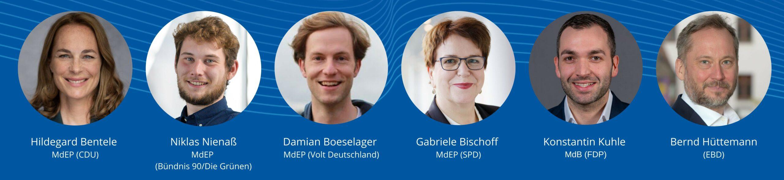 Erwartungen an die Konferenz zur Zukunft Europas   Paneldiskussion bei EBD-Mitgliederversammlung 2021