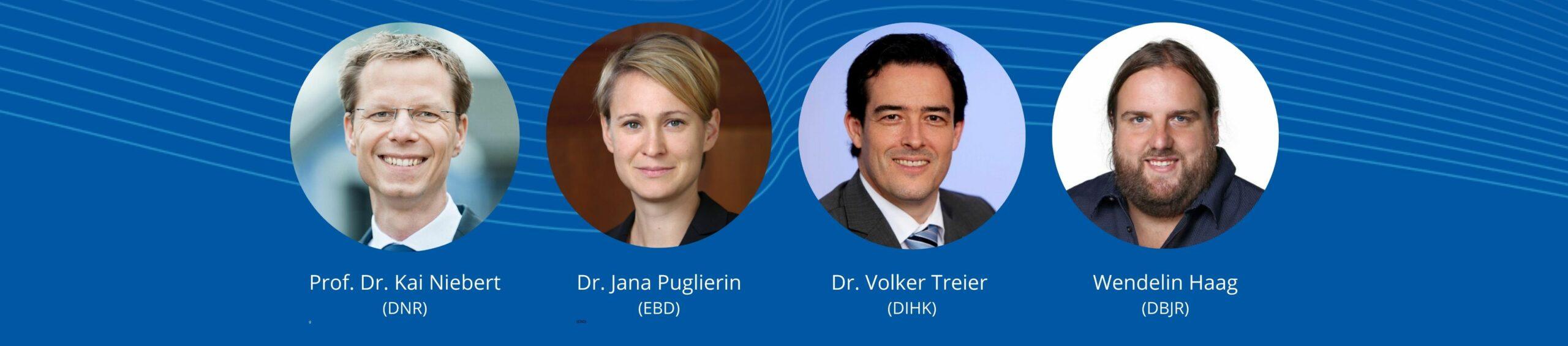 Europapolitische Erwartungen an die nächste Bundesregierung   Paneldiskussion bei EBD-Mitgliederversammlung 2021